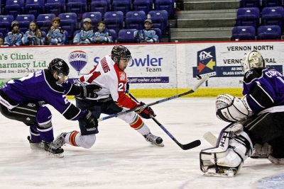No Treats For the Vipers Last Night: Shoot-out Loss