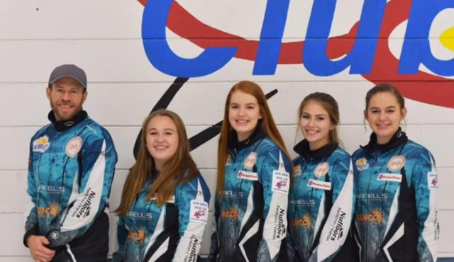 Curling Playoff Action Underway at BC Junior's