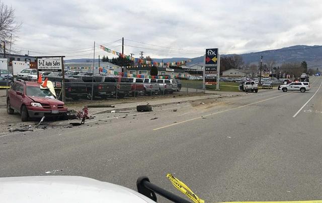 Serious Crash Involved Stolen Vehicle