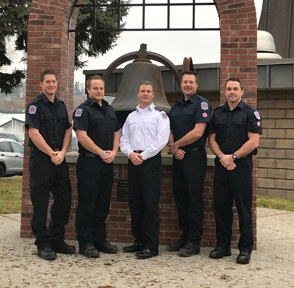 New Firefighters Hired