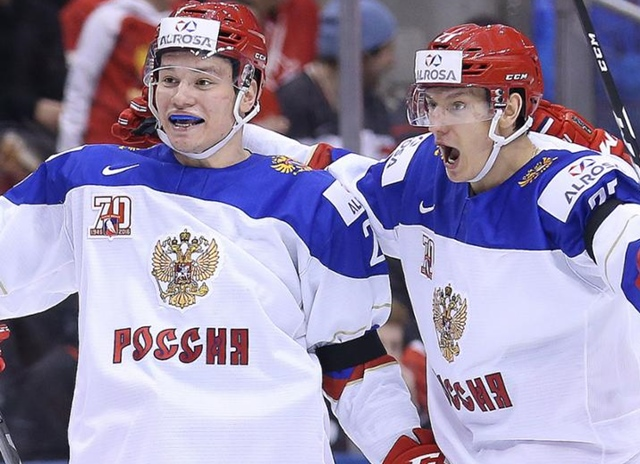Russian Junior Stars At Kal Tire Place