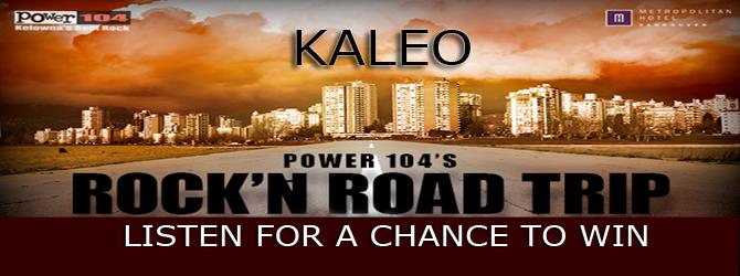 ROCK'N ROAD TRIP - KALEO