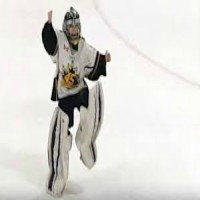 8 Year old Goalie Dancing