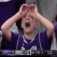 Northwestern Fan has Meltdown