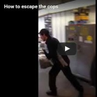 How to escape the cops