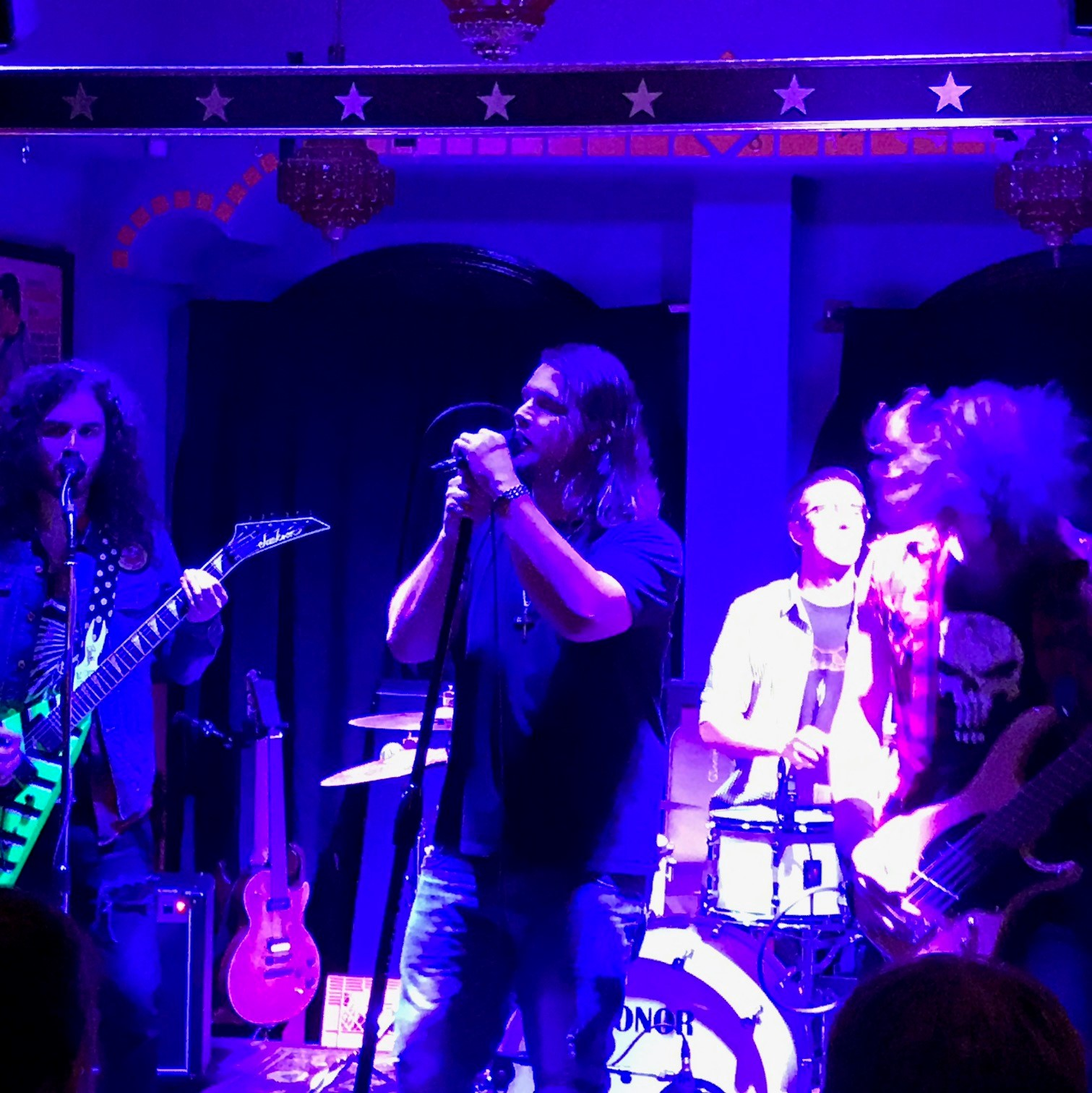 Saw another cool band Saturday night...