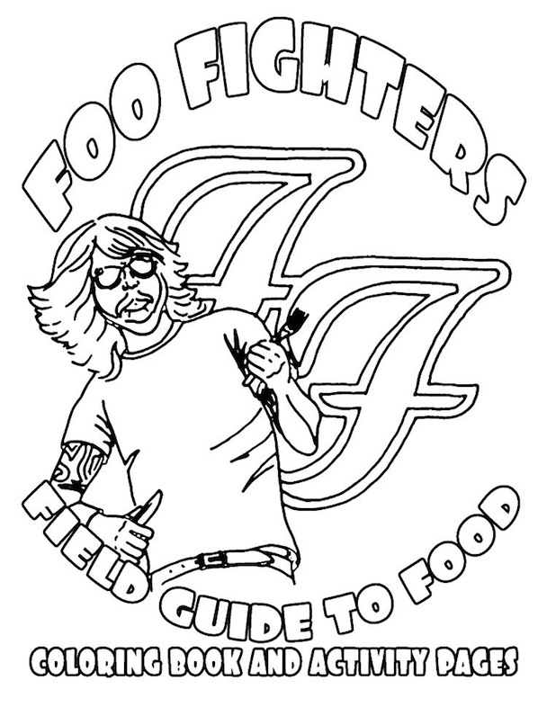 What's on the Foo Fighters tour rider?