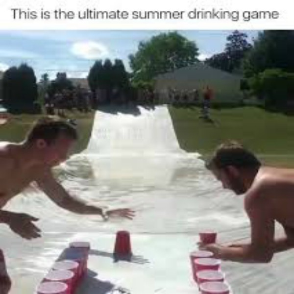 This is the ultimate summer drinking game