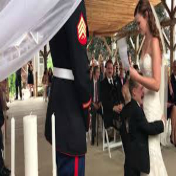 4-Year-Old Boy Cries as Stepmom Reads Wedding Vows She Wrote for Him