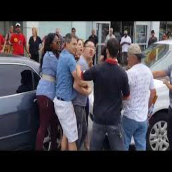 Road Rage Turns Violent In No Frills Parking Lot