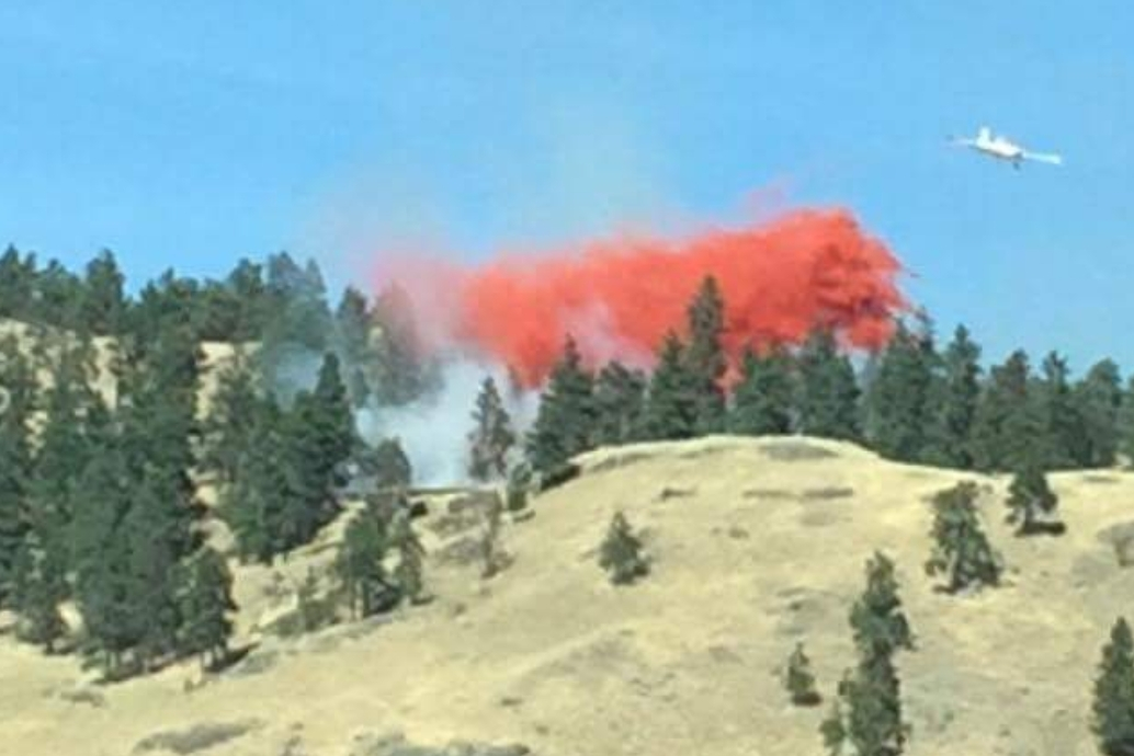 Fire On Knox Mtn, Wildfire At Naramata and Round 2 Against Mosquitoes