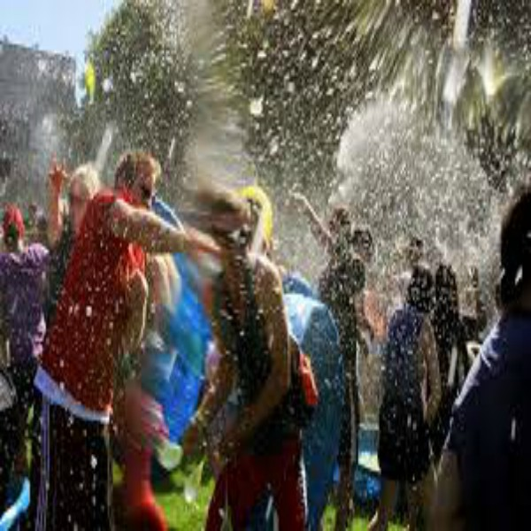 Water Balloon Fight for OffSpring tix