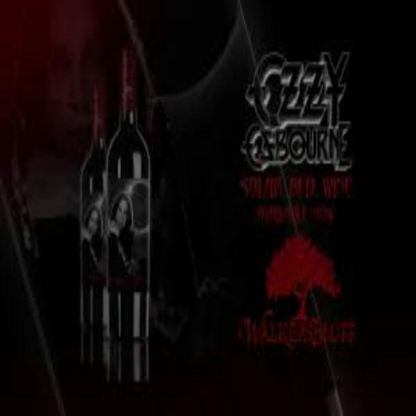 Ozzy Osbourne Solar Red Wine