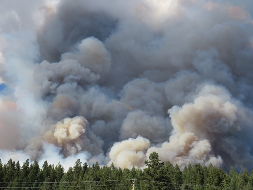 BC Wildfires Bigger Than Ft. McMurray, Local Swim Clubs Join Forces and Demo at St. Joseph School Today