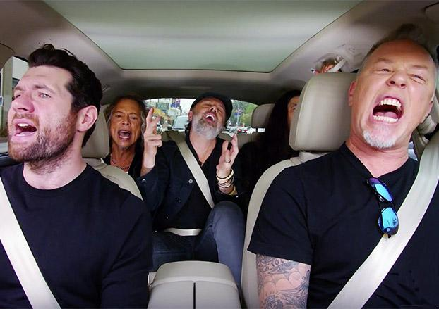 Metallica does Carpool Karaoke Tonight!