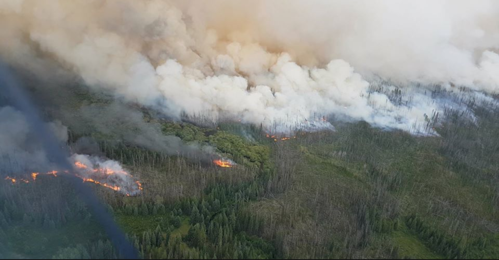 Weather Change Brings Cariboo Lightning, Lake Country Fire Handled Quickly and Cops 4 Kids Not Phoning You