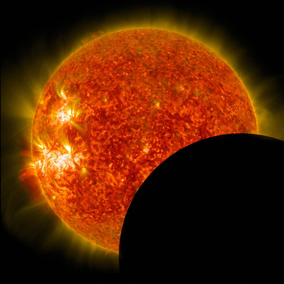 Avoid Eye Damage from Monday's Solar Eclipse