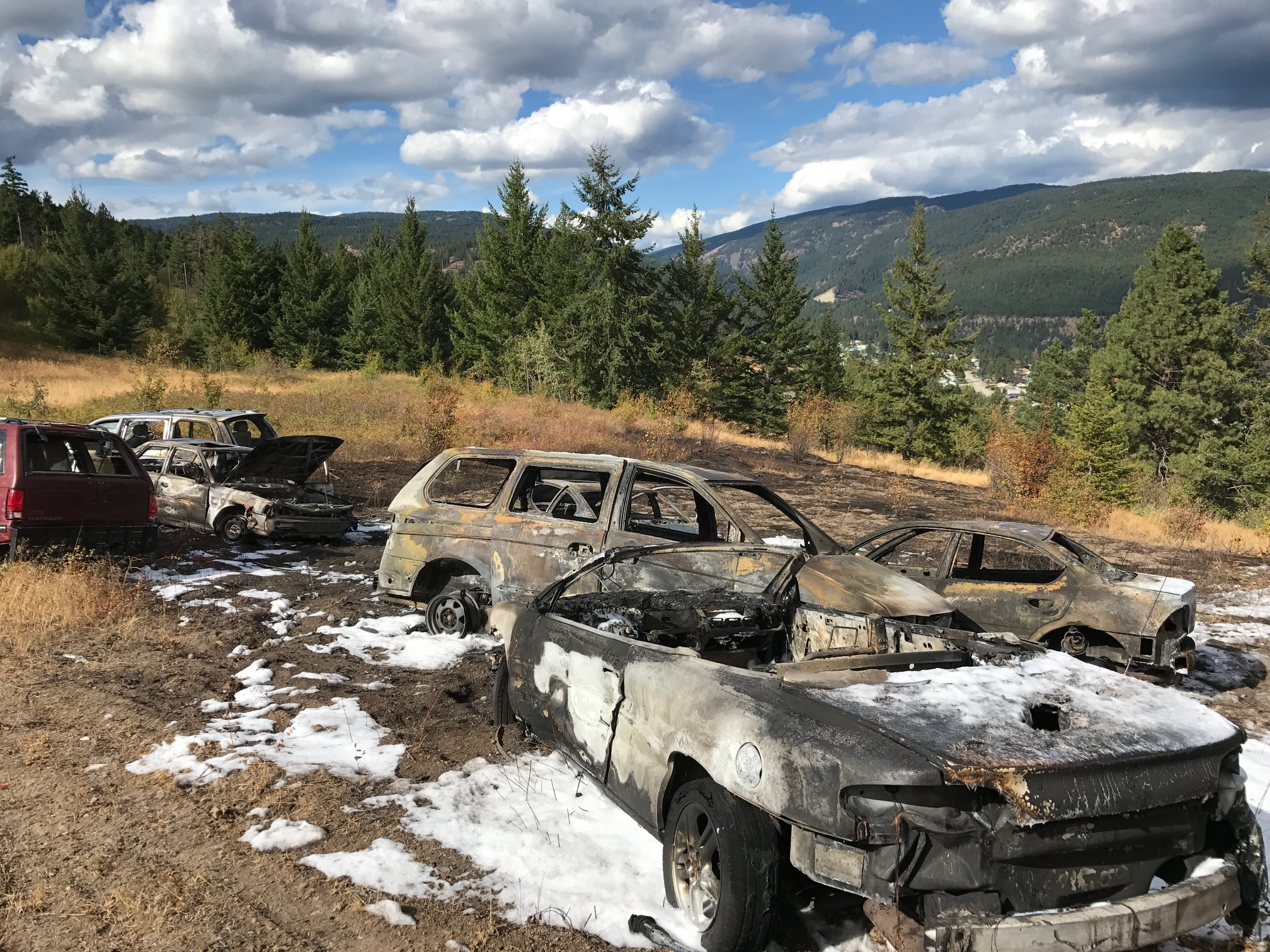 Cars and Grass Set On Fire in Glenrosa, NDP to Ban Union/Corporate Donations and Name the New Middle School