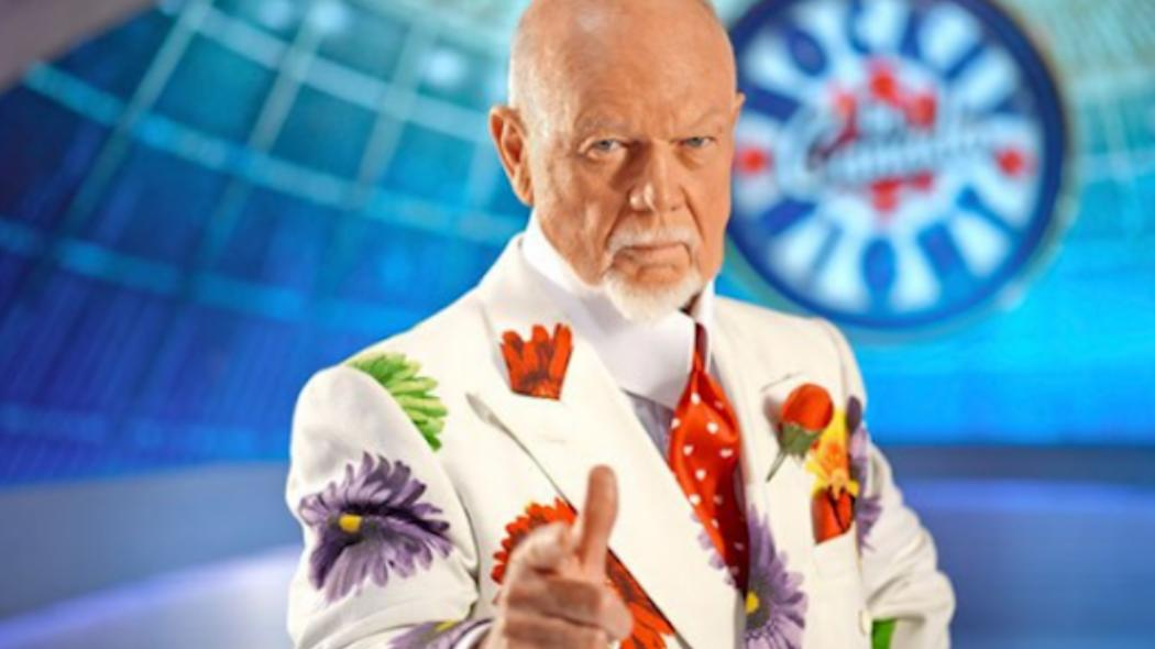 Don Cherry On Wearing Shoes In The House