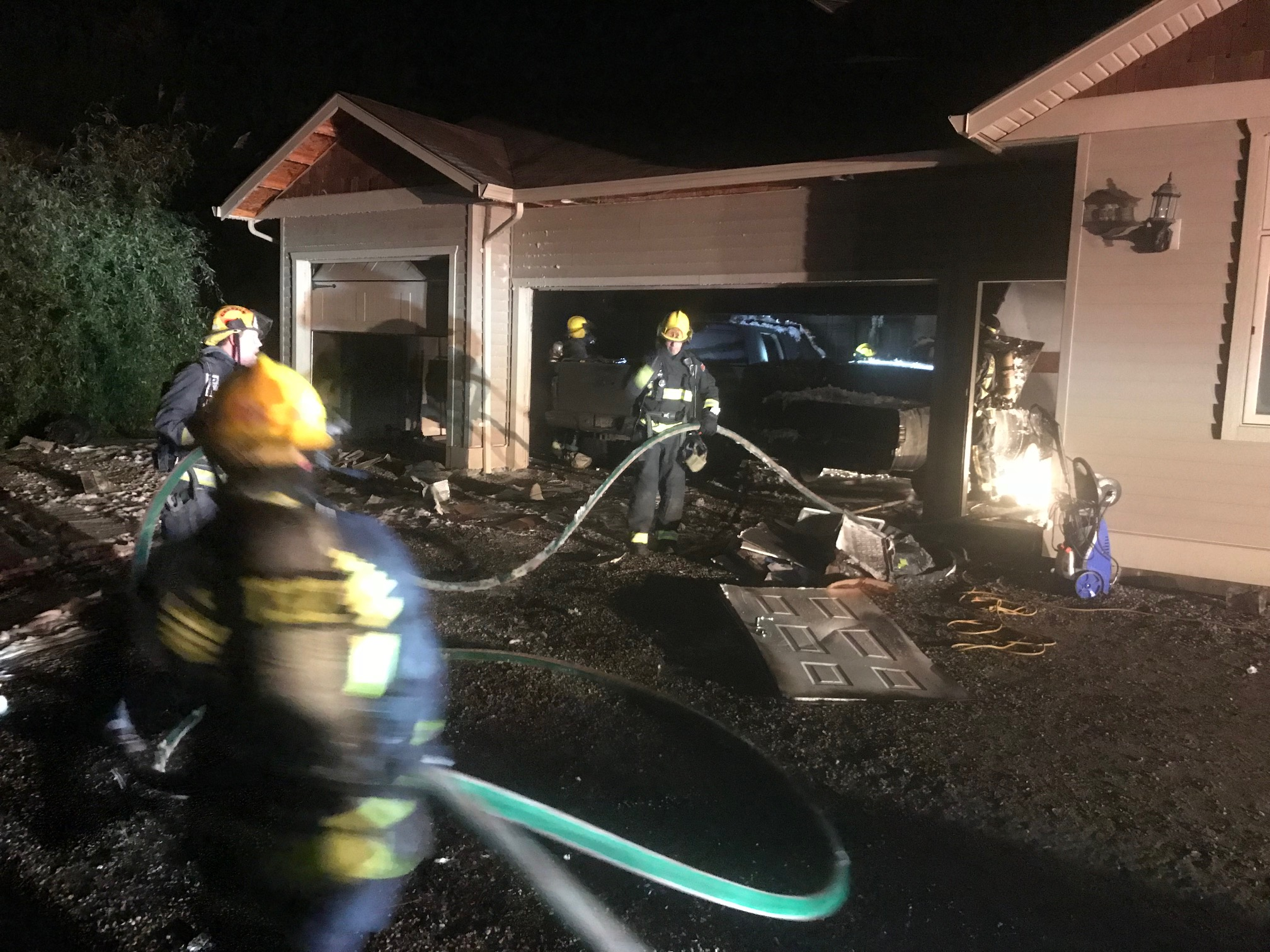 No Injuries in WK Fire, Search For Suspect in Lake and No Naked Massage Chairs