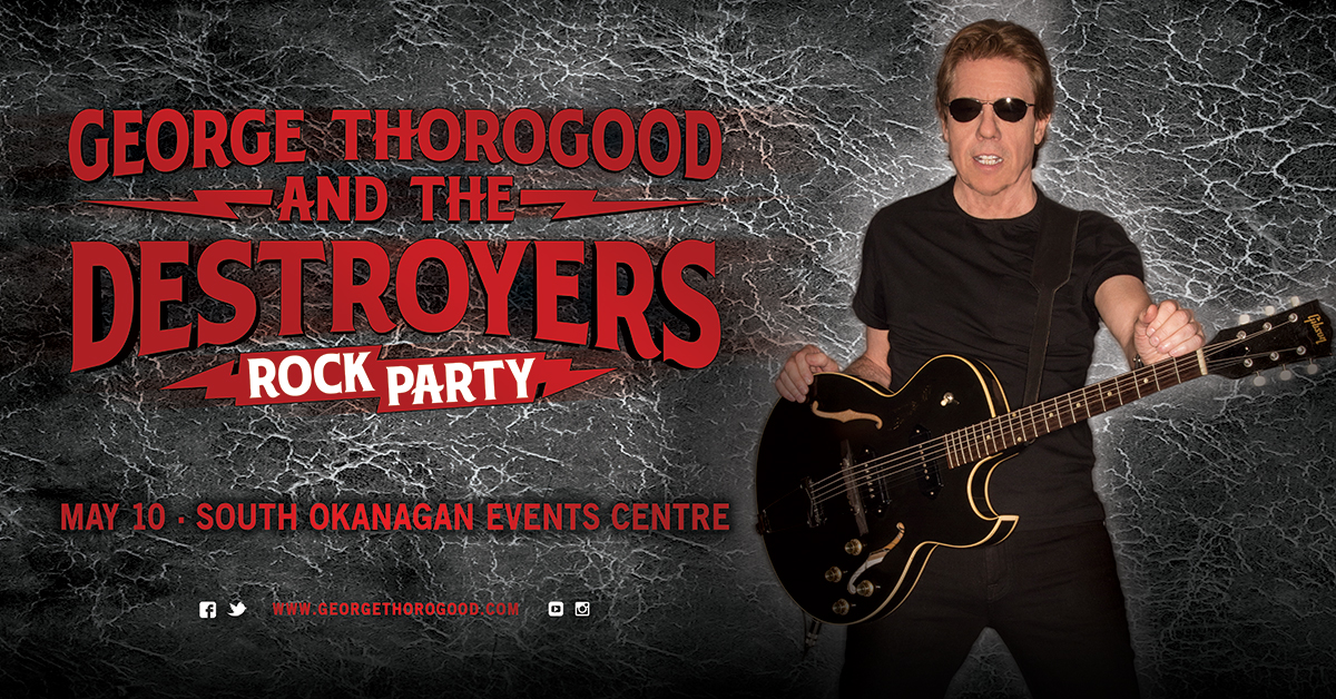 George Thorogood And The Destroyers Power 104 Fm