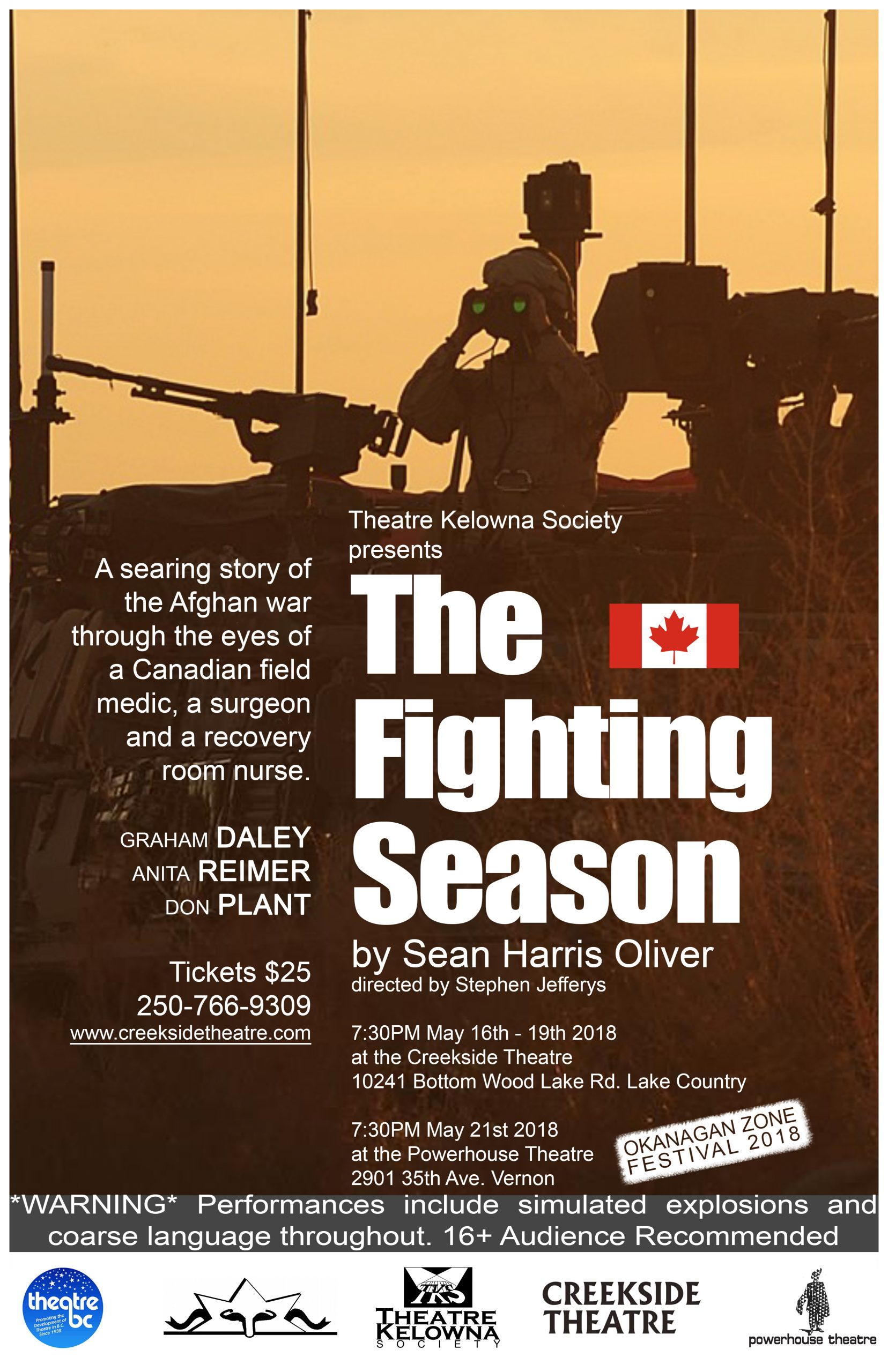 Theatre Kelowna presents The Fighting Season