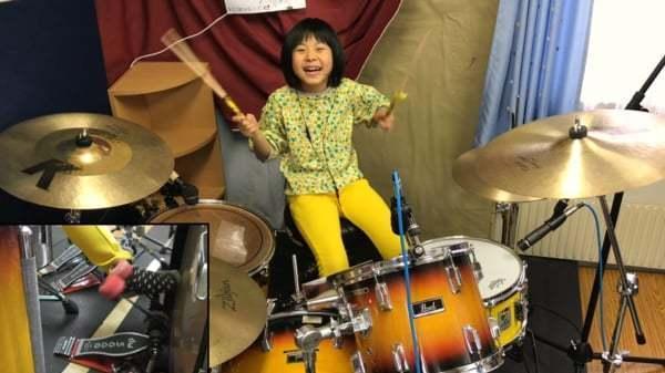 Eight-Year-Old Slays Zep Tune