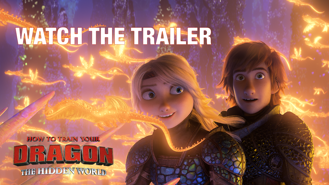 Watch: How To Train Your Dragon: The Hidden World Trailer