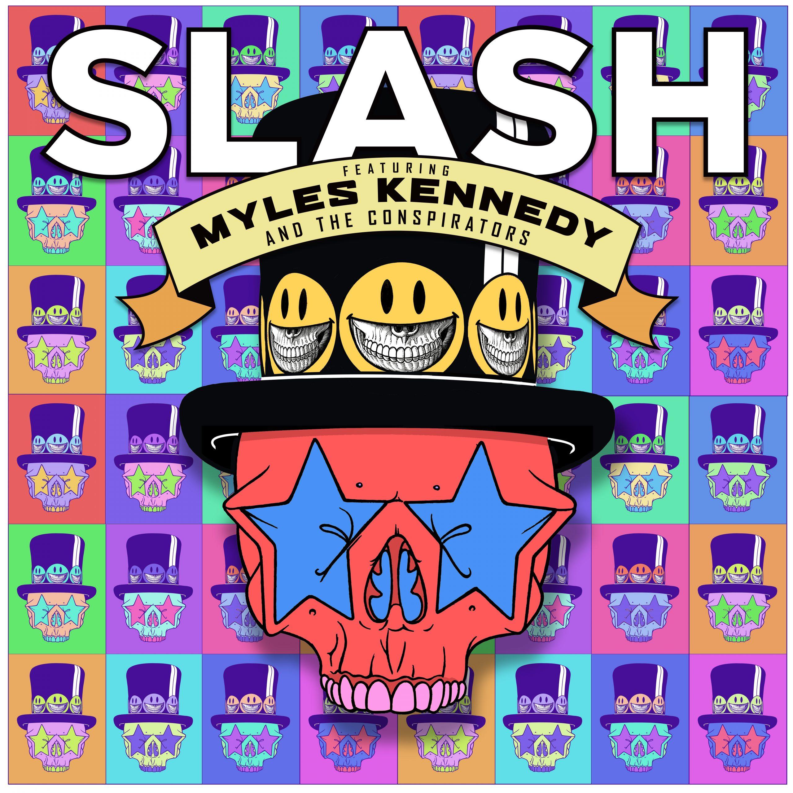 Slash featuring Myles Kennedy & The Conspirators - Driving Rain