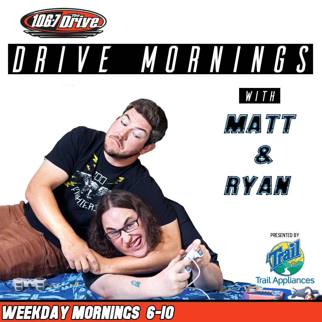 DRIVE MORNINGS with Matt & Ryan