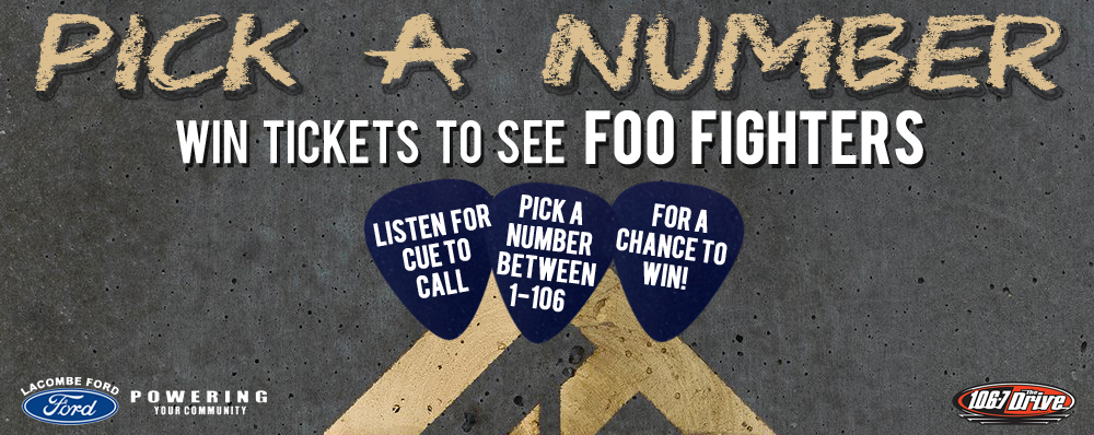 Pick A Number: Foo Fighters