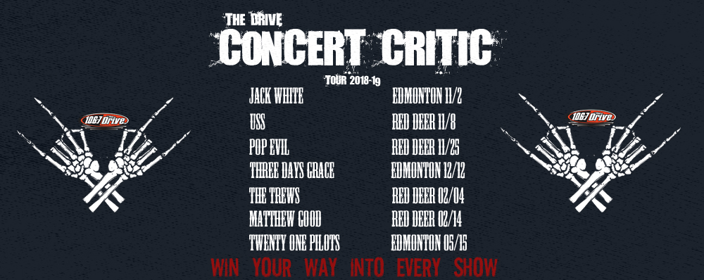 Feature: https://www.1067thedrive.fm/concert-critic/