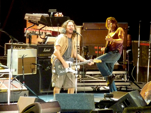 Pearl Jam are back with a new song...