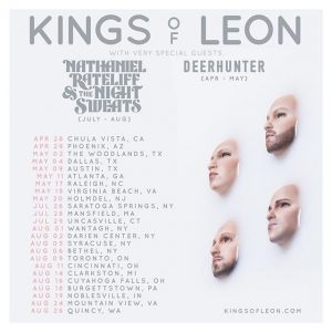Just announced-Kings of Leon.....at the Gorge