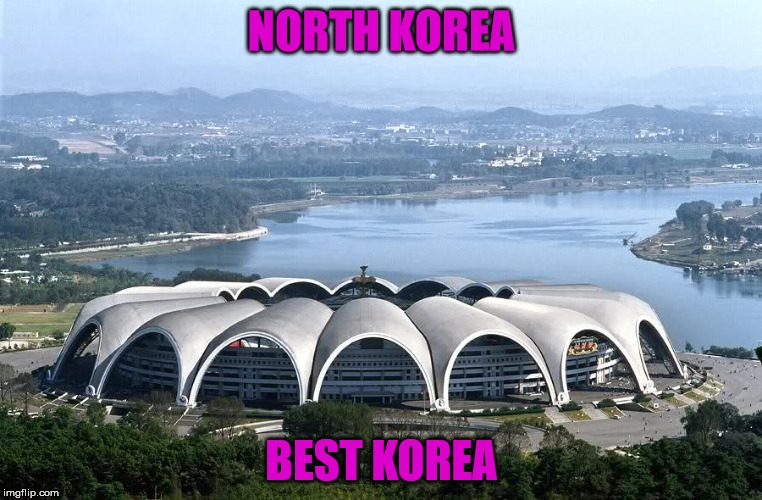 Google Users Have Been Writing Reviews About North Korea's Massive Stadium