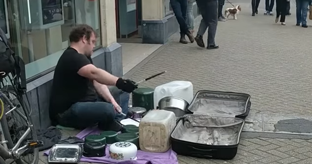 Vancouver Needs More Buskers Like This Guy