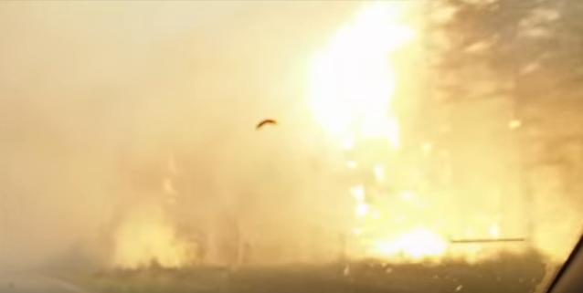 WATCH: UBC Professor Escapes BC Wildfire