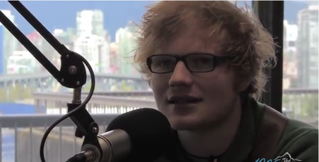 The Time Ed Sheeran Came to THE PEAK