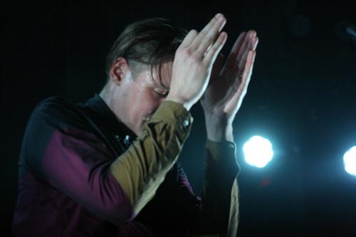 Arcade Fire on Colbert