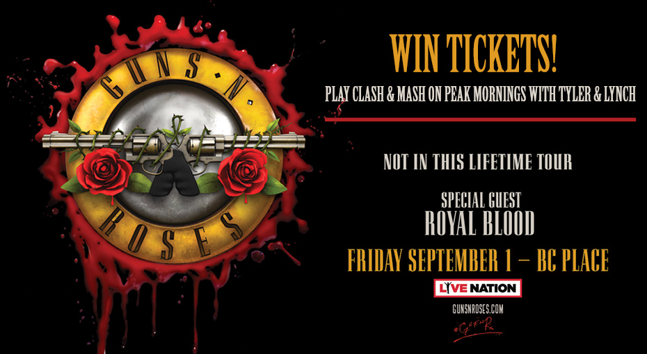 Win tickets to Guns N' Roses