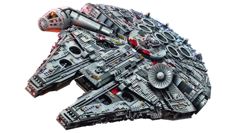 The Biggest Most Desirable Lego Set Is Out: The 7,541-Piece Millennium Falcon