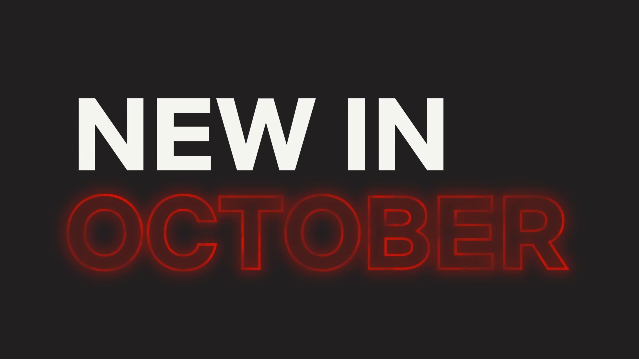 New to Netflix in October