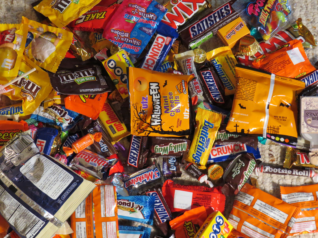 It's a Halloween Candy battle.