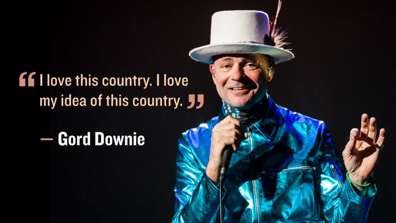 RIP Gord Downie: February 6 1964 - October 17 2017
