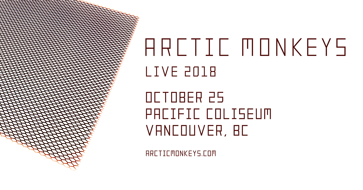 Arctic Monkeys Coming To Vancouver