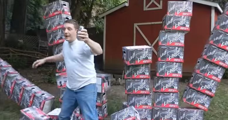 WATCH: Drunk Man Makes Commercial for Costco Beer