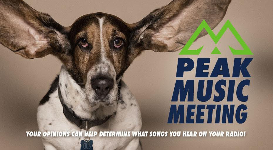 Feature: http://www.thepeak.fm/peak-music-meeting/