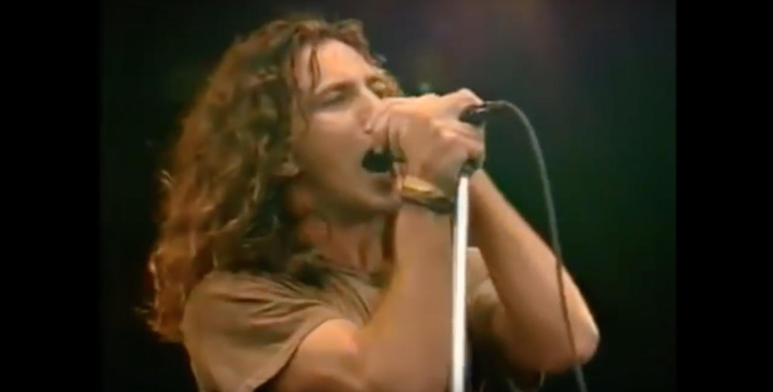 Isolated Eddie Vedder Vocals
