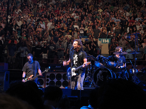 Pearl Jam The Home Shows and activism