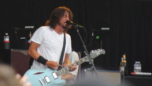 Foo Fighters on Corden